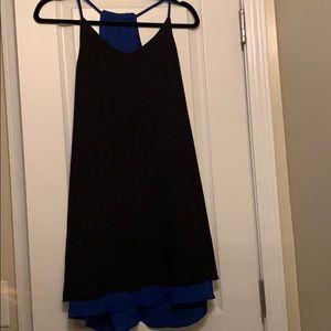 Dresses & Skirts - Reversible black/blue dress